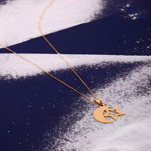 گردنبند ماه و ستاره